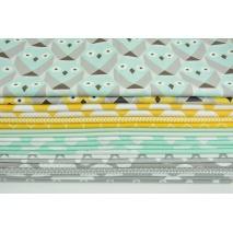 Fabric bundles No. 25 E 60x150cm