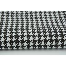 Cotton 100% black cheerful check