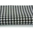 Cotton 100% black cheerful check
