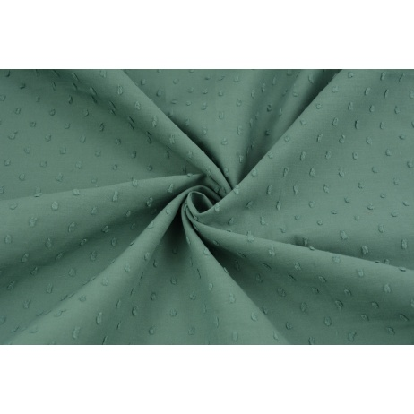 Cotton 100% plumeti plain sage (2)