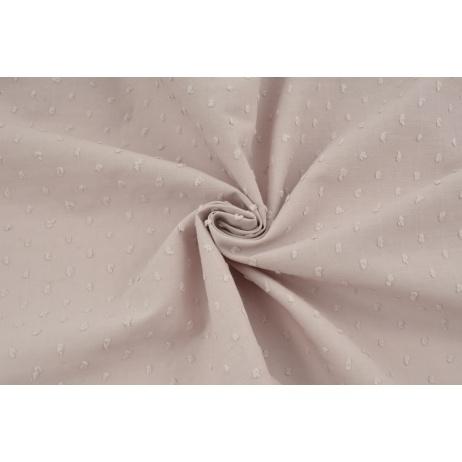 Cotton 100% plumeti powder pink (2)