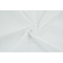 Bawełna 100% plumeti biała (2)