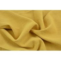 100% linen, mustard (stonewashed)