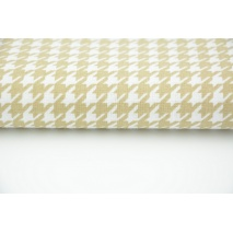 Cotton 100% beige cheerful check