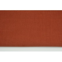 Cotton 100%, fine corduroy brick red