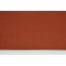 Cotton 100%, fine corduroy brick red
