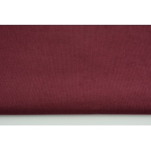 Cotton 100%, fine corduroy bordeaux
