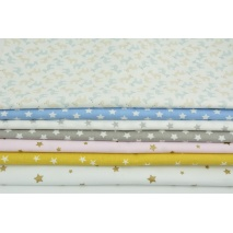 Fabric bundles No. 652 KO 40x140cm