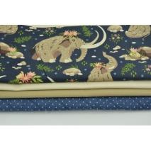 Fabric bundles No. 654 KO 30x140cm