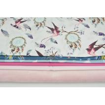 Fabric bundle No. 634 KO 30x160cm