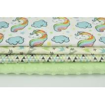 Fabric bundles No 658 KO 20x140 cm