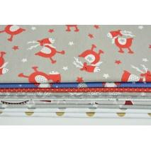 Fabric bundles No. 323 OA 30x150cm
