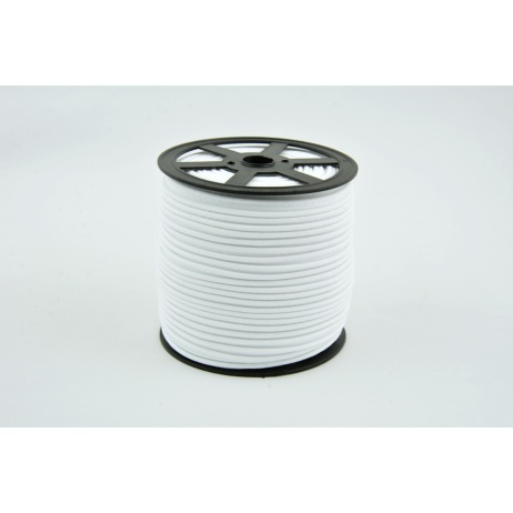 Cotton edging ribbon white