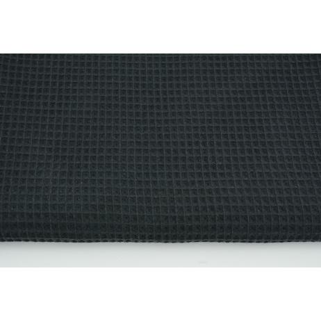 Cotton 100%, waffle fabric, plain graphite