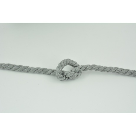 Gray 10mm Cotton Cord S