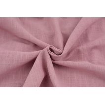Cotton 100%, fabric imitating linen, dark pink