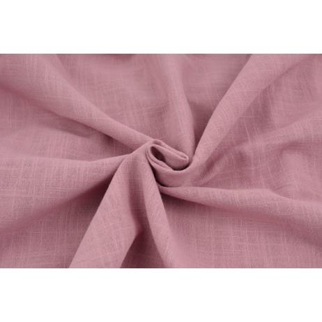 Cotton 100%, fabric imitating linen, dark pink