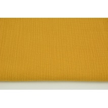 Double gauze 100% cotton plain honey