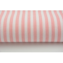 Cotton 100% coral stripes 5mm