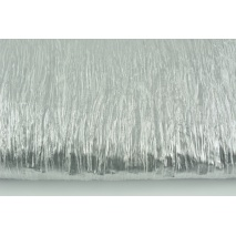 Lama fabric, silver crushed 35g/m2