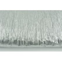 Tkanina typu lama, srebrna gnieciona 35g/m2