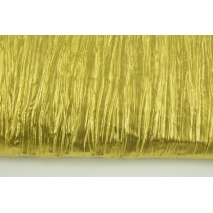 Lama fabric, golden crushed 35g/m2