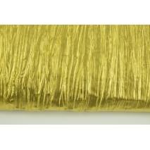 Tkanina typu lama, złota gnieciona 35g/m2
