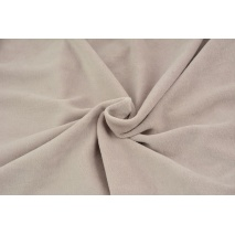 Knitwear velour, powder pink