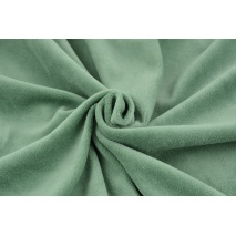 Knitwear velour, sage green