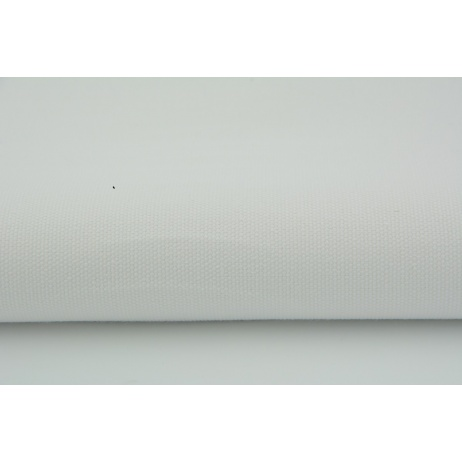 Cotton 100% plain white 155g/m2