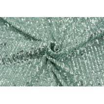 Sequin knitwear, powder mint