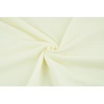 Knitwear 100% cotton velor, creamy