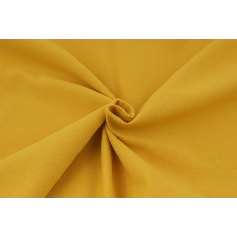 Looped knitwear plain honey