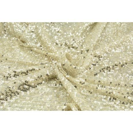 Sequin knitwear, beige
