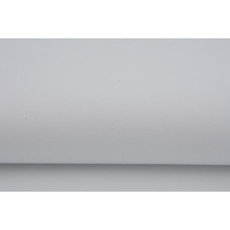 Bawełna 100% Gruba tkanina DRELICH biała