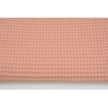 Cotton 100% waffle dark salmon CZ 160 cm