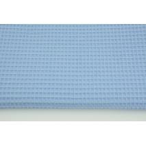 Cotton 100% waffle blue CZ 160 cm