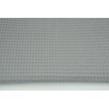 Bawełna 100%, wafel, ciemnoszary NR 2 CZ 160 cm