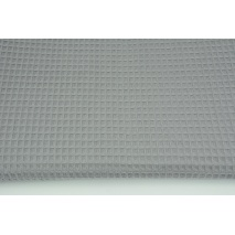 Cotton 100% waffle, dark gray CZ No 2 160 cm