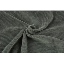 Knitwear, wide corduroy dark gray 300 g/m2