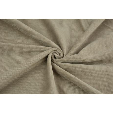 Velvet smooth dark beige 220 g/m2