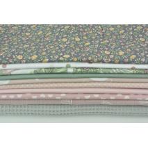 Fabric bundles No 222 AEO 20x140 cm