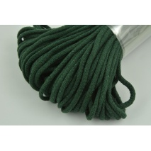 Cotton Cord 6mm bottled green (soft)