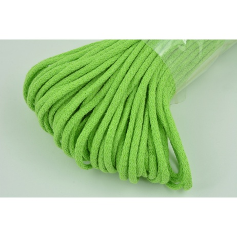 Cotton Cord 6mm lime (soft)