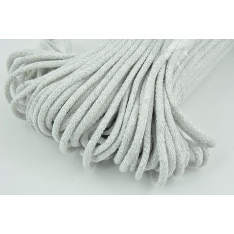 Cotton Cord 6mm gray (soft)