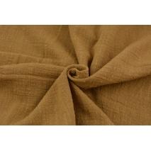 Cotton fabric, tobacco AR, slub cotton