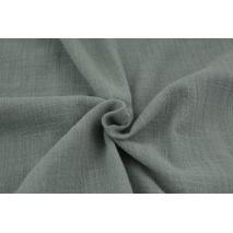 Cotton fabric, gray AR, slub cotton