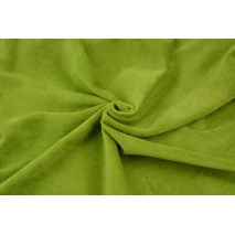 Knitwear velour, green