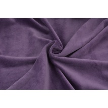 Knitwear velour, purple