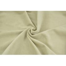 Knitwear velour, beige